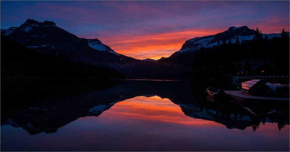 Sunrise reflected in Emerald Lake - © Christopher Martin-0148