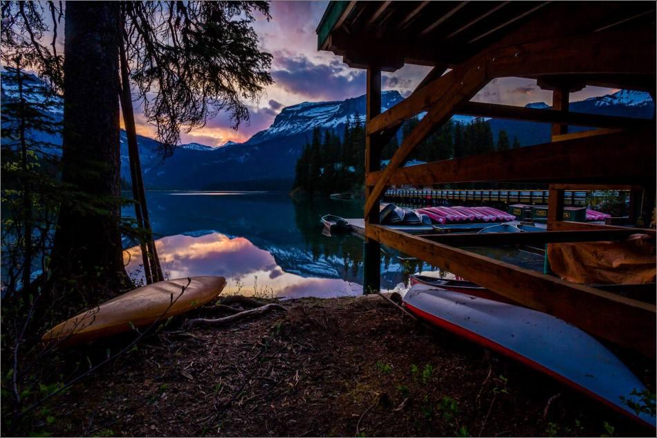 Sunrise reflected in Emerald Lake - © Christopher Martin-0342