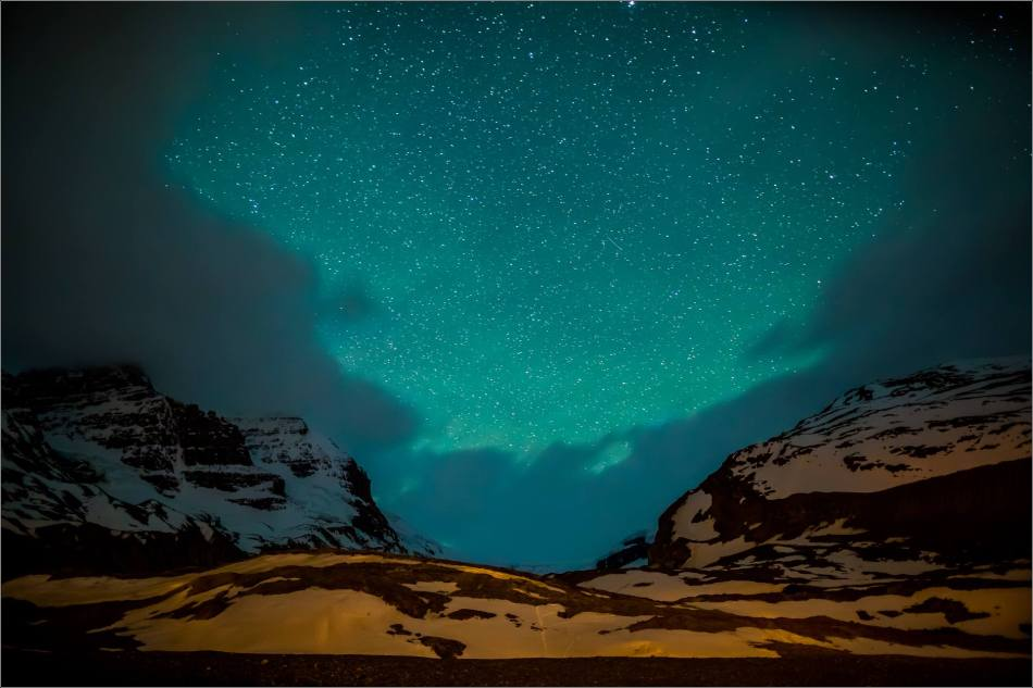 Athabasca Glacier under the stars - © Christopher Martin Photography-0663