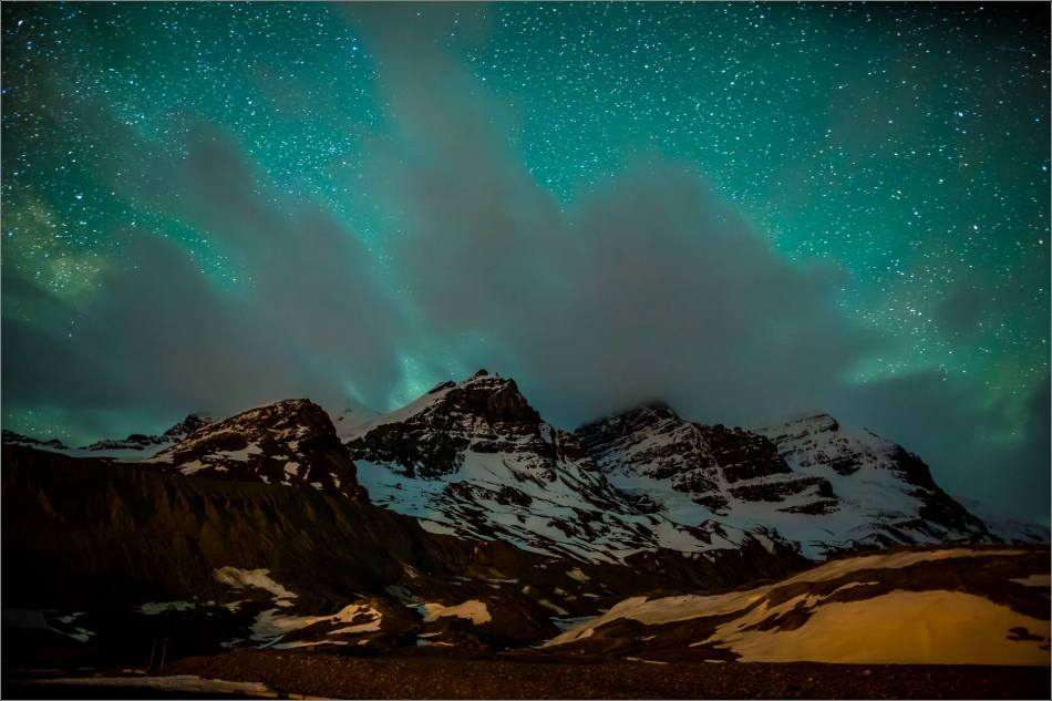 Athabasca Glacier under the stars - © Christopher Martin Photography-0666