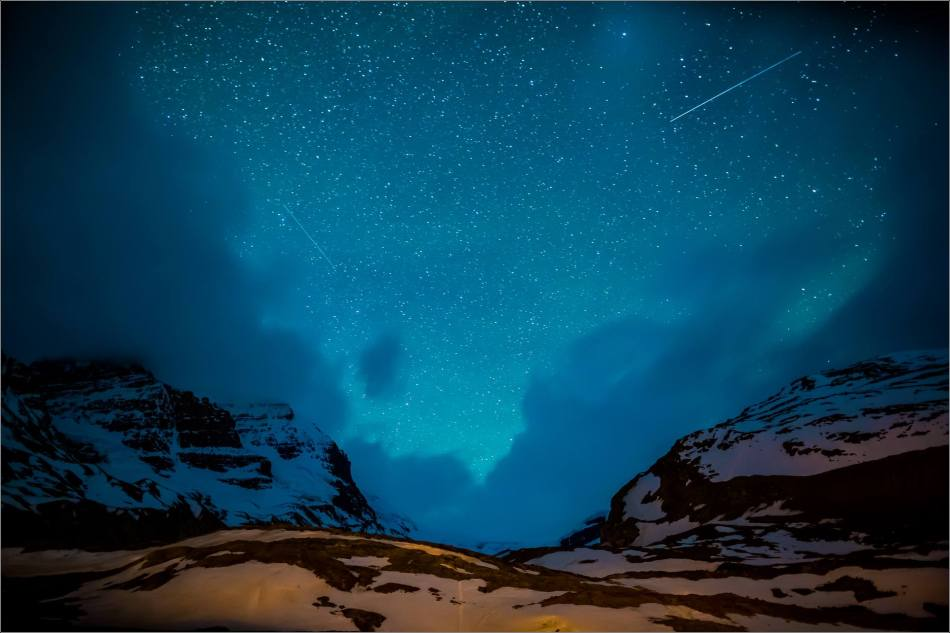 Athabasca Glacier under the stars - © Christopher Martin Photography-0676