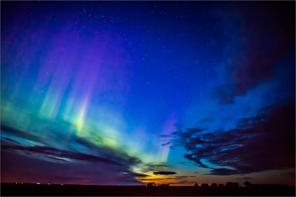Aurora Borealis over Nanton  - © Christopher Martin-3900