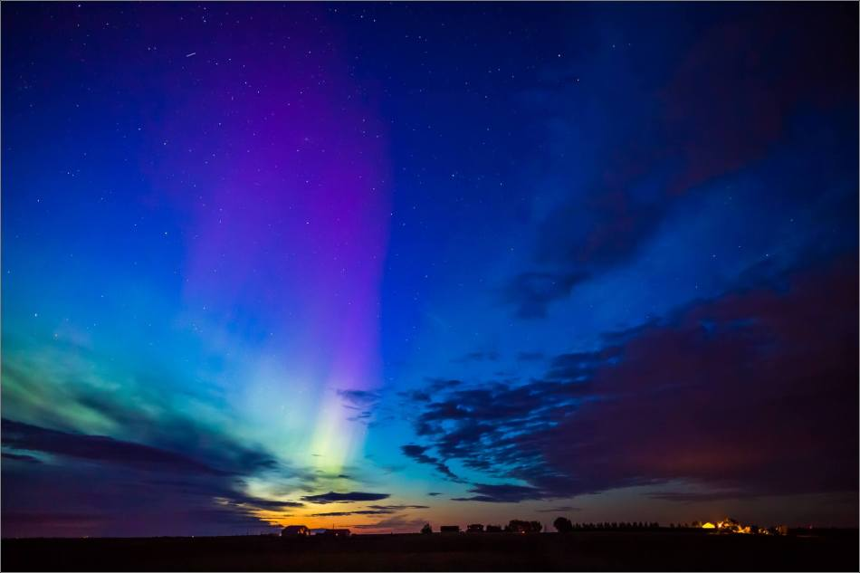 Aurora Borealis over Nanton  - © Christopher Martin-3910