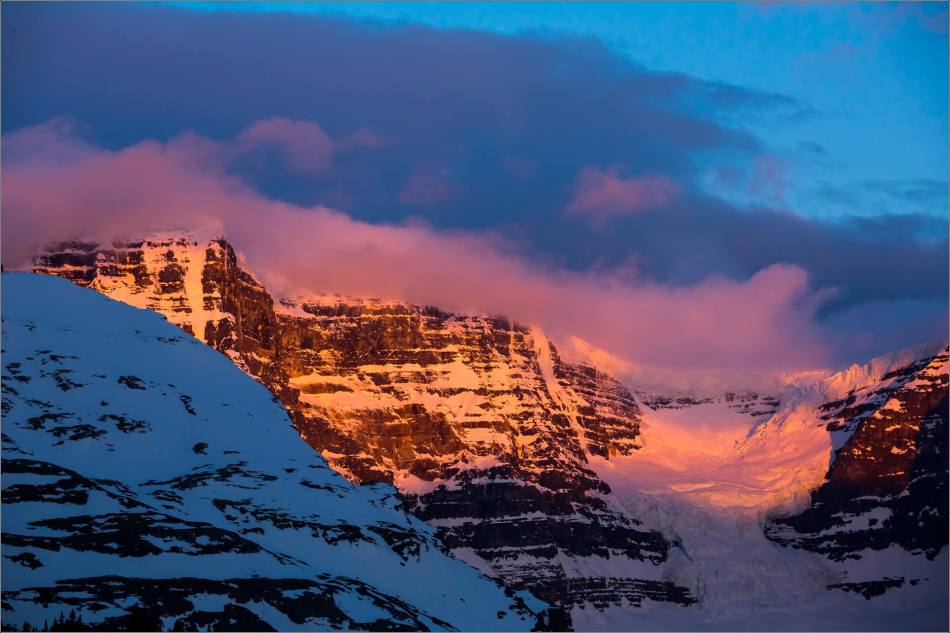 Dawn at the Columbia Icefields - © Christopher Martin Photography-0695