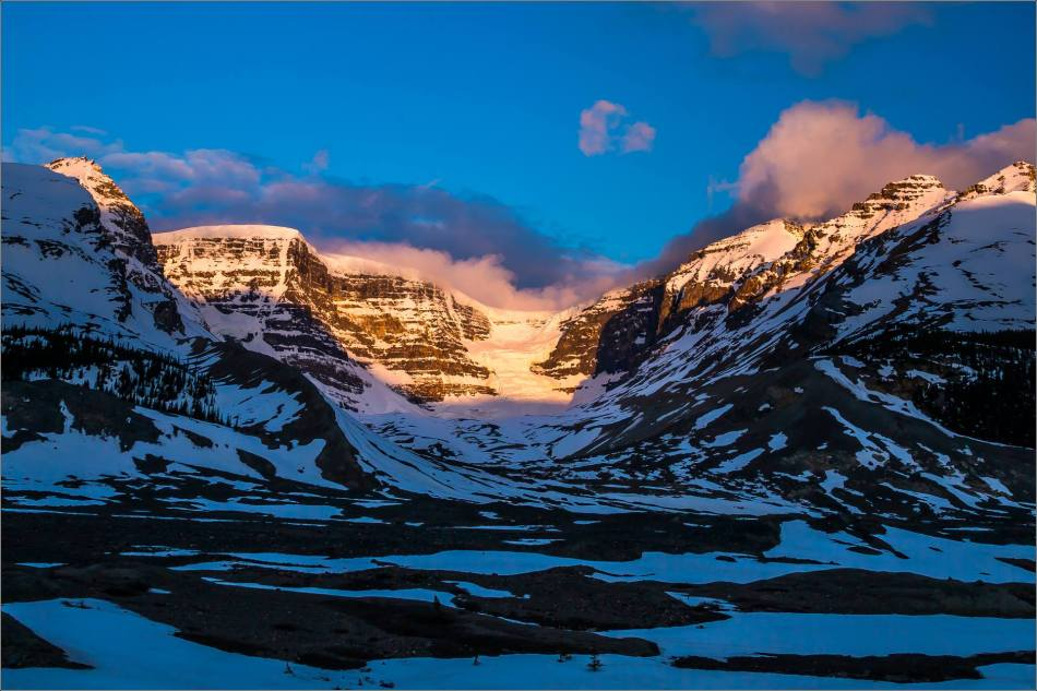 Dawn at the Columbia Icefields - © Christopher Martin Photography-0723