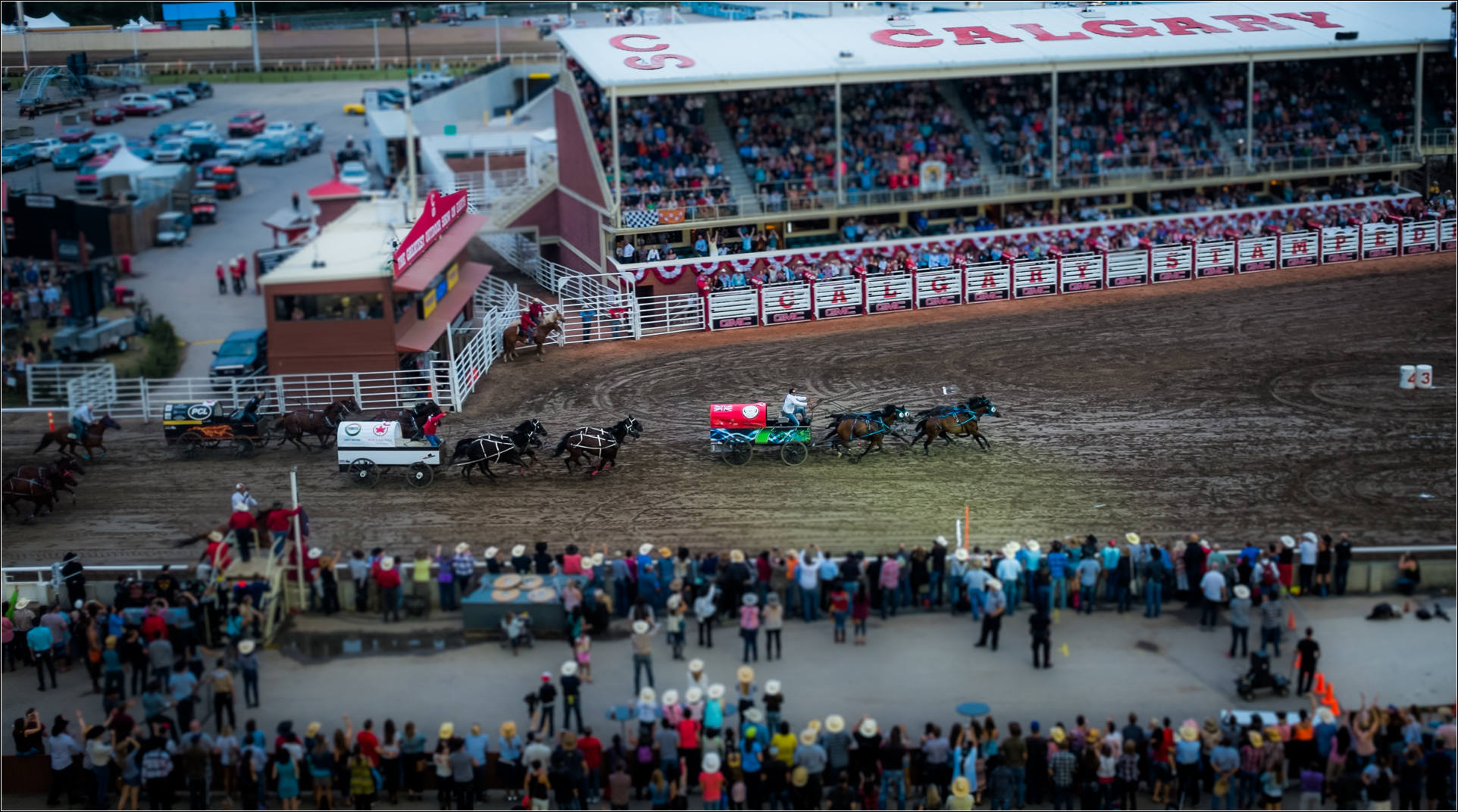 The Last Night At The 2015 Calgary Stampede Christopher