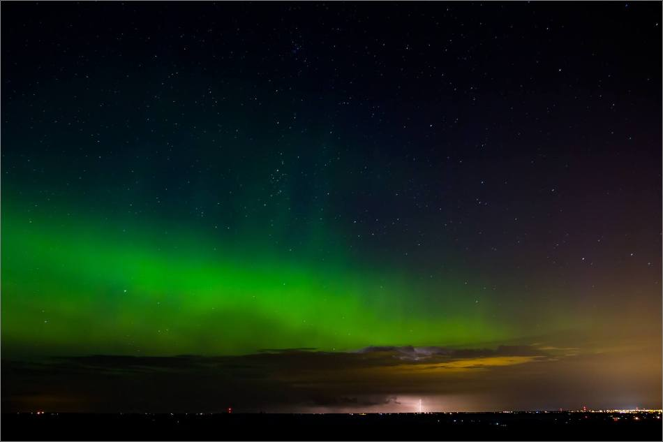 Aurora Lightning - © Christopher Martin-8344