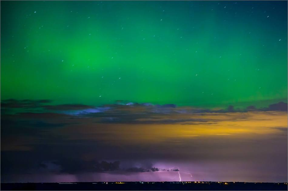 Aurora Lightning - © Christopher Martin-8353-4