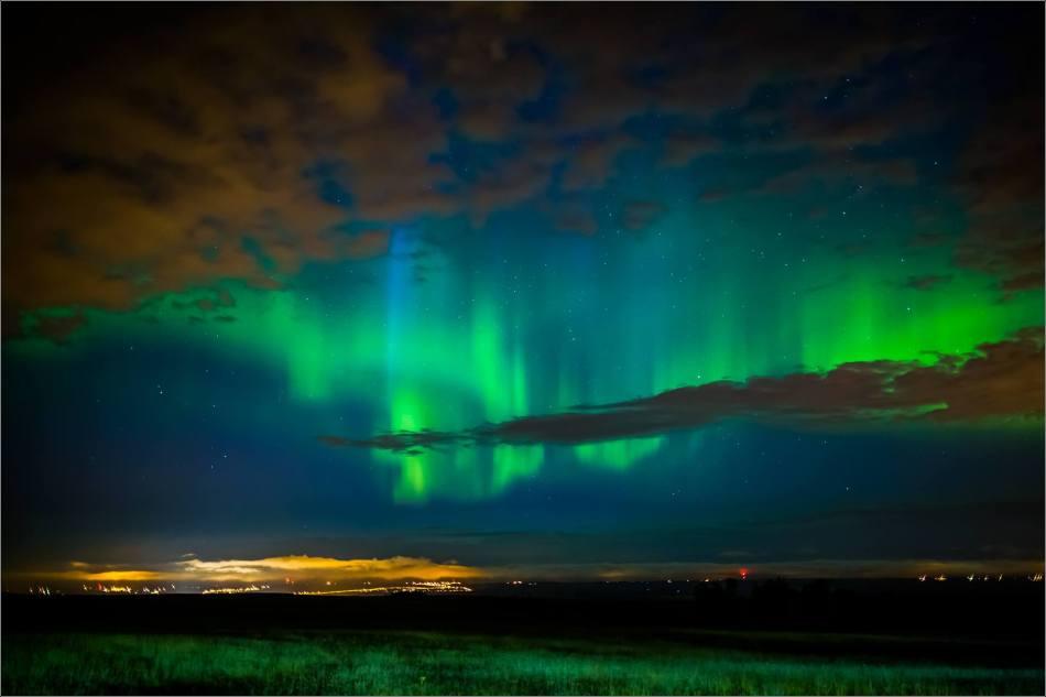 Aurora Lightning - © Christopher Martin-8480