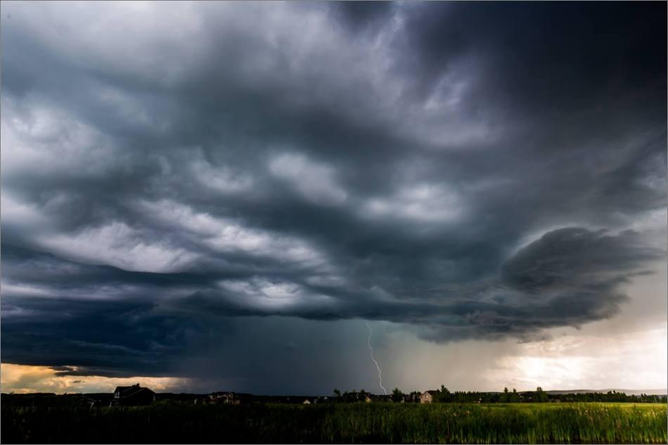Prairie Storm Lightning - © Christopher Martin-8566