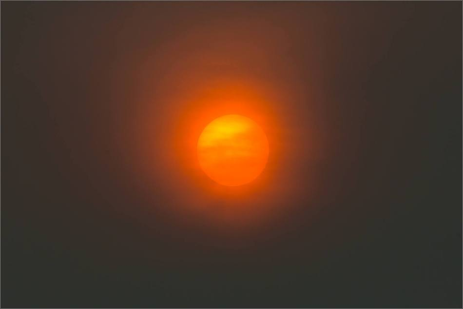 Smoky sun - © Christopher Martin-4280
