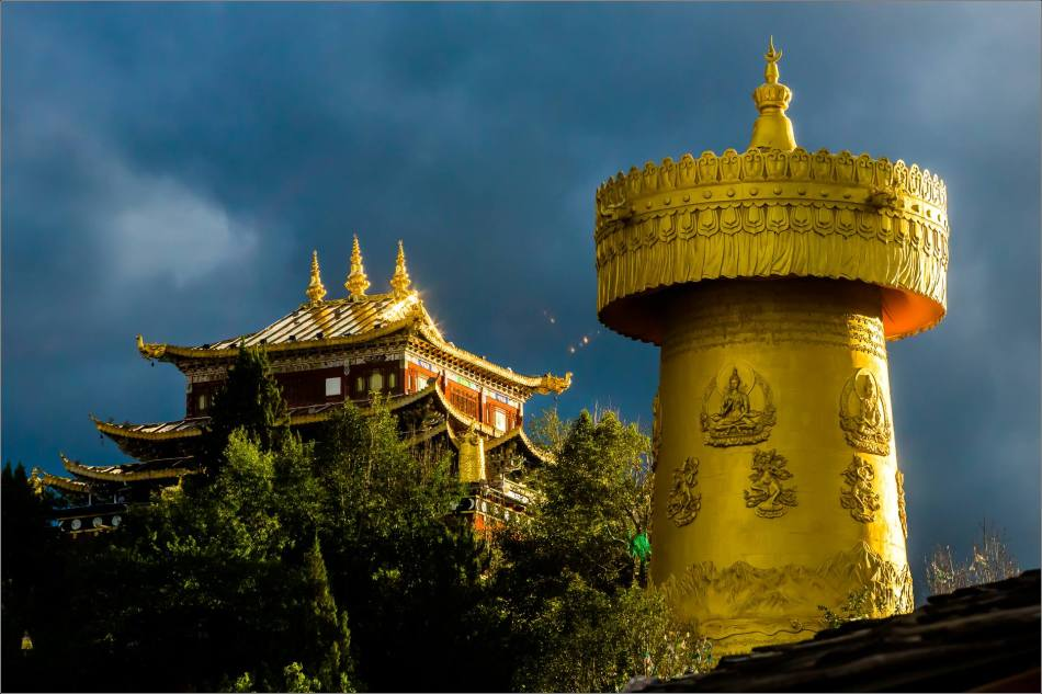 Dukezong Prayer Wheel in Shangri-La - © Christopher Martin-6028