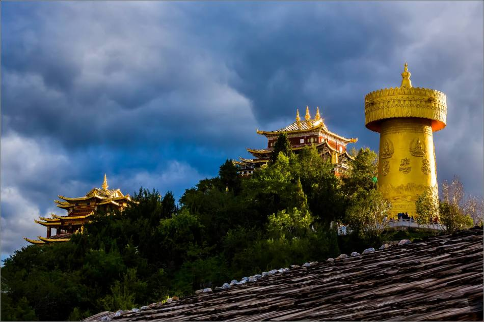 Dukezong Prayer Wheel in Shangri-La - © Christopher Martin-6033