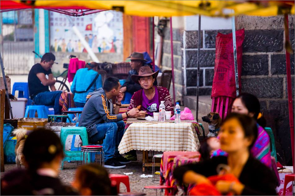 On the street in Shangri-La - © Christopher Martin-5942