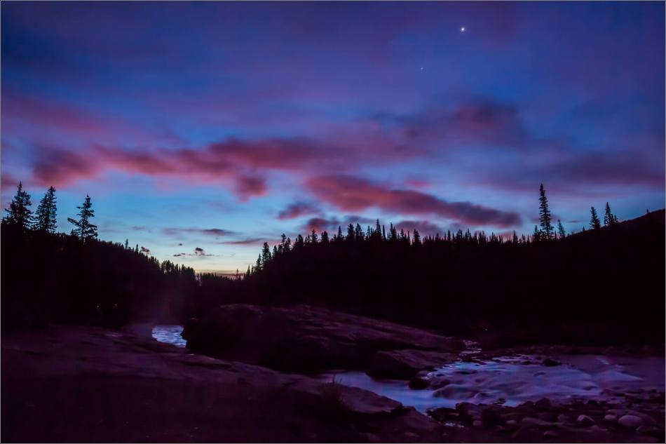 Elbow Falls, Autumn Dawn - © Christopher Martin-1108