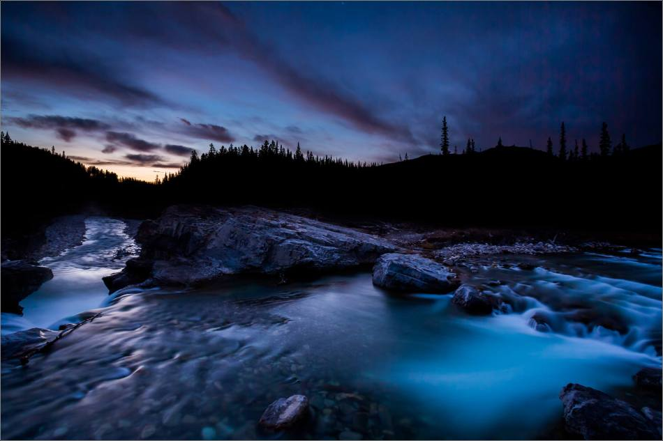 Elbow Falls, Autumn Dawn - © Christopher Martin-1121
