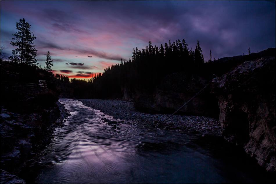 Elbow Falls, Autumn Dawn - © Christopher Martin-1132