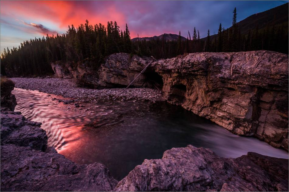 Elbow Falls, Autumn Dawn - © Christopher Martin-1160