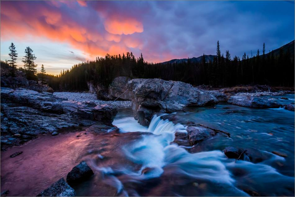 Elbow Falls, Autumn Dawn - © Christopher Martin-1173