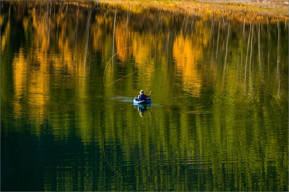 Angling in Wedge Pond - © Christopher Martin-0747