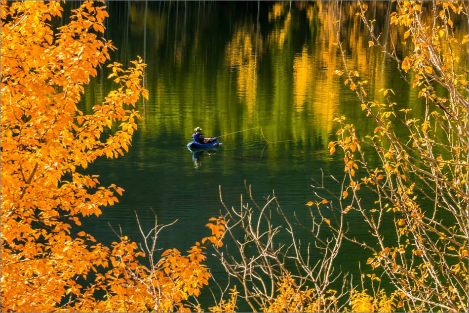 Angling in Wedge Pond - © Christopher Martin-0755