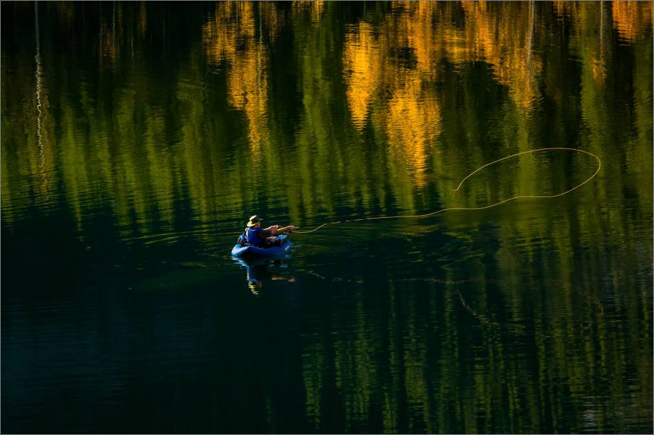 Angling in Wedge Pond - © Christopher Martin-0764