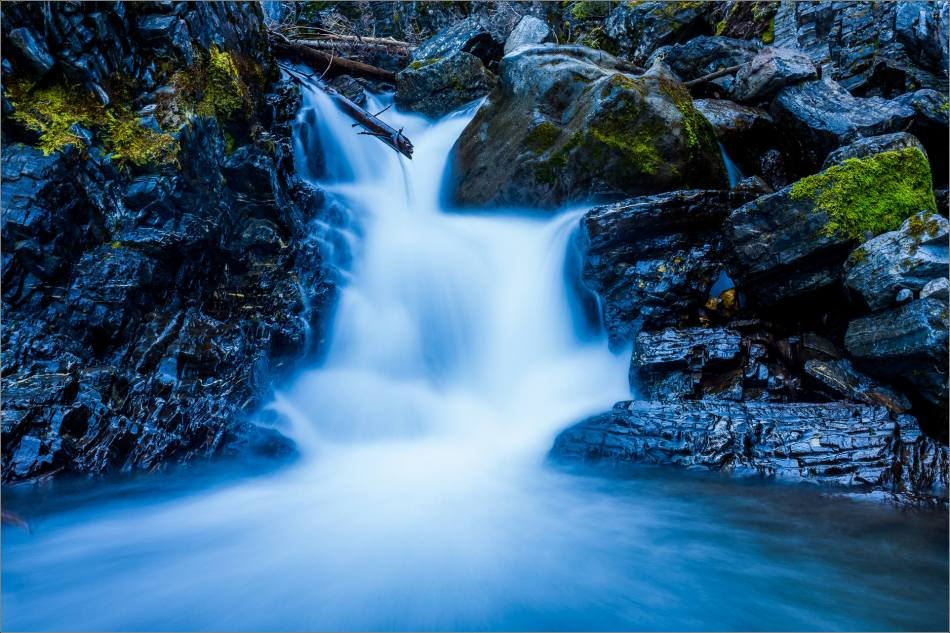 Sarrail Falls in Kananaskis - © Christopher Martin-0665