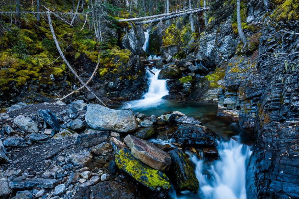 Sarrail Falls in Kananaskis - © Christopher Martin-0727