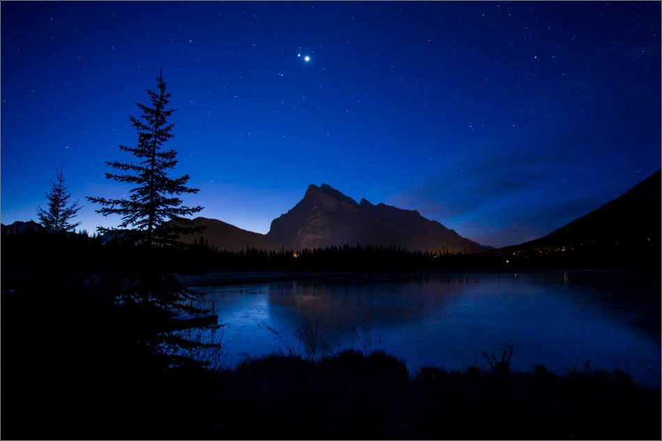 Vermilion Lakes Sunrise in the Banff National Park - © Christopher Martin-1698