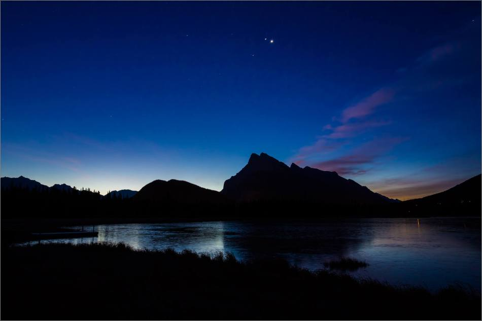 Vermilion Lakes Sunrise in the Banff National Park - © Christopher Martin-1733