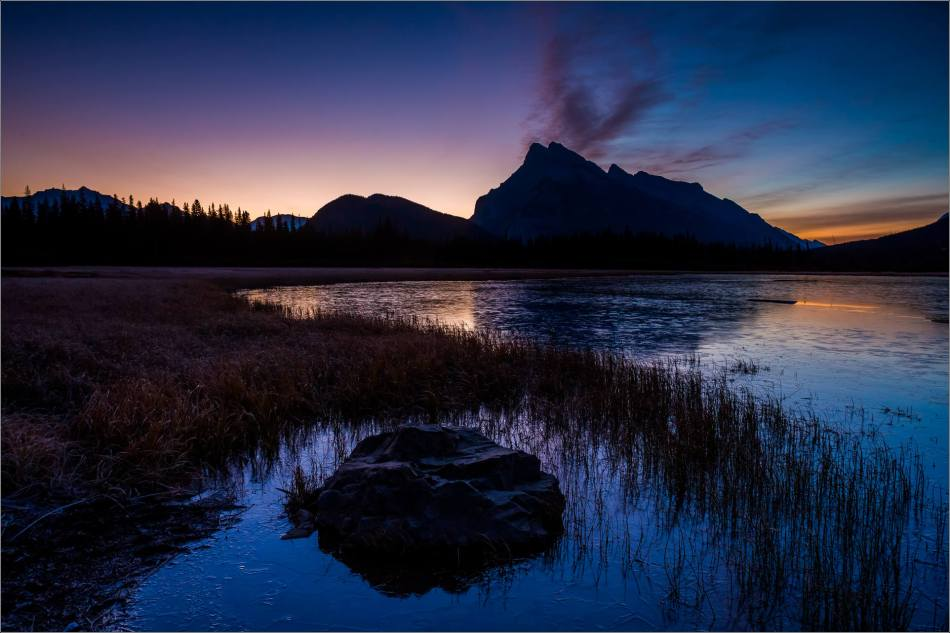 Vermilion Lakes Sunrise in the Banff National Park - © Christopher Martin-1772