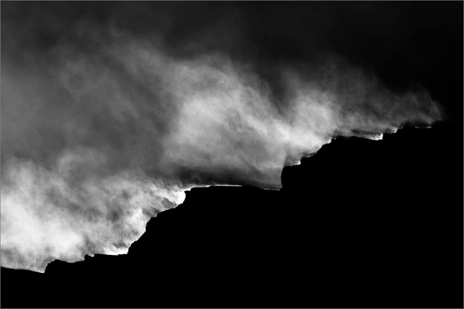Blowing snow off of Beatrice Peak - © Christopher Martin-3028