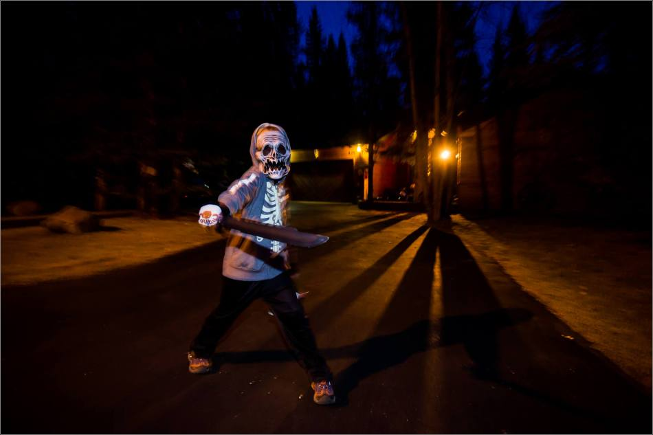 Halloween Tricking and Treating - © Christopher Martin-2519