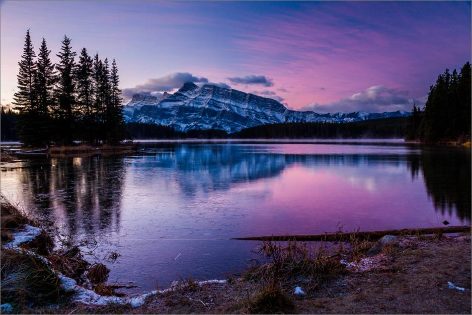 Two Jack Sunrise in Banff - © Christopher Martin-2600
