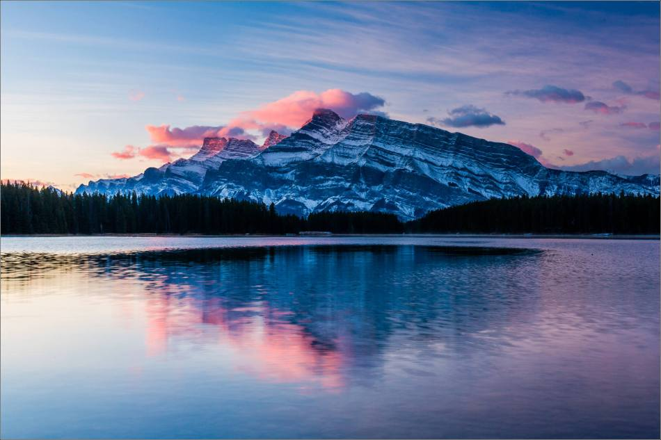 Two Jack Sunrise in Banff - © Christopher Martin-2648