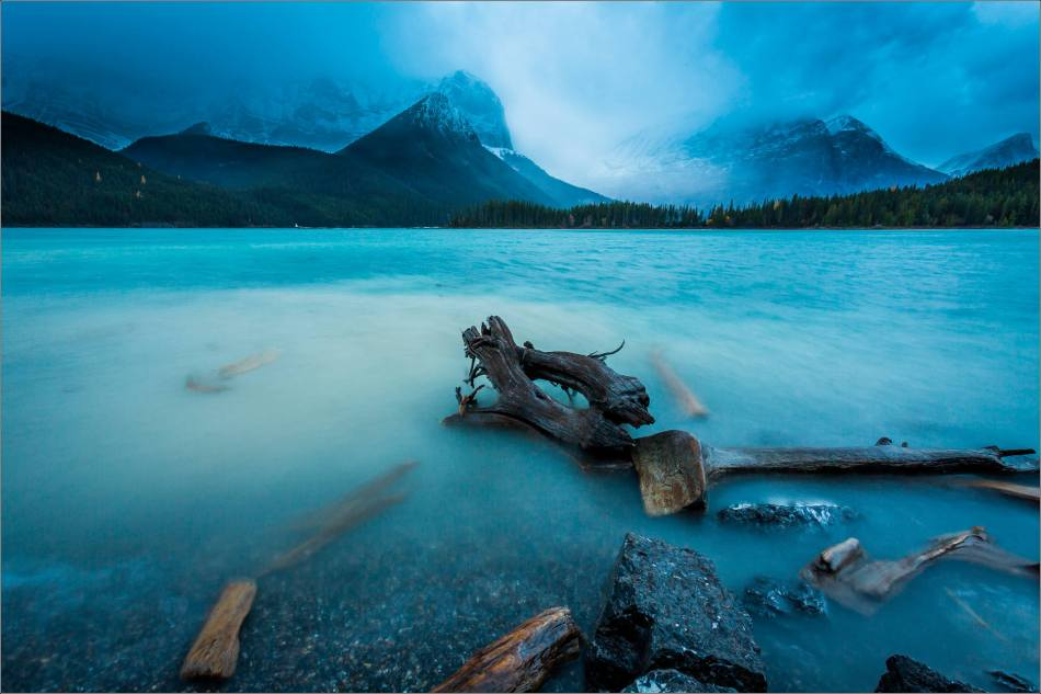 Storm on the Upper Kananaskis Lake - © Christopher Martin-0825-2