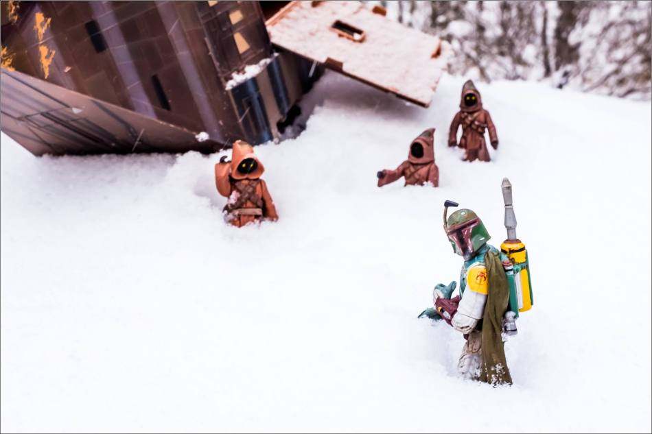 Winter Jawas and Boba Fett - © Christopher Martin-1606