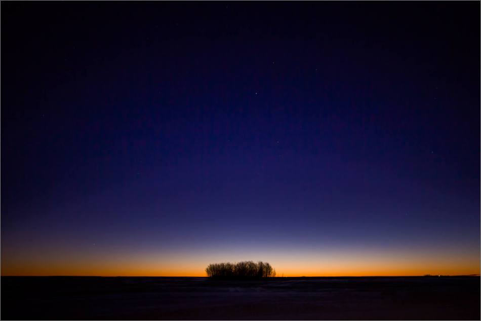Prairie dawn - winter morning - © Christopher Martin-8857