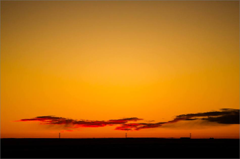 Prairie dawn - winter morning - © Christopher Martin-8959