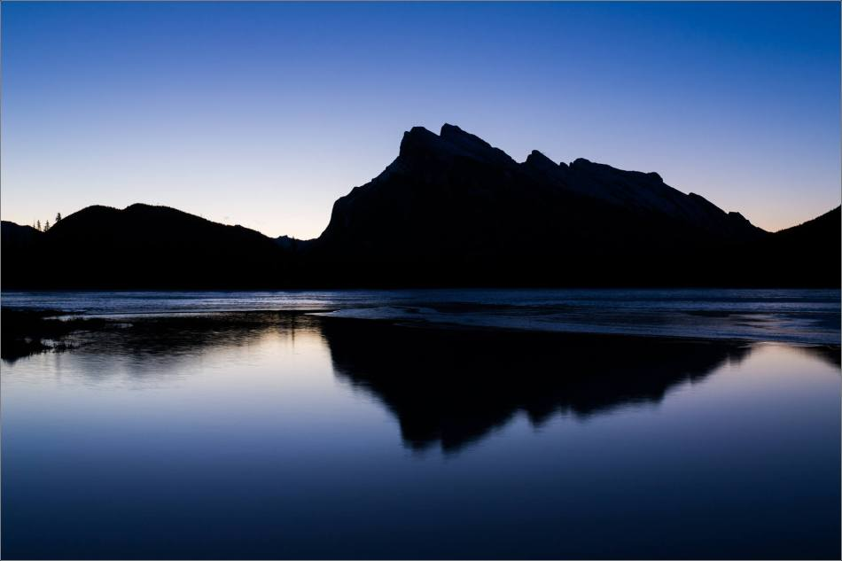 Banff and the morning blues - © Christopher Martin-1413