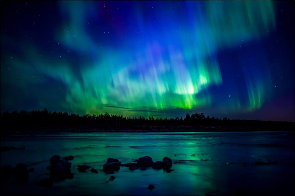 Albertan Aurora over the Elbow River - © Christopher Martin-5945-2