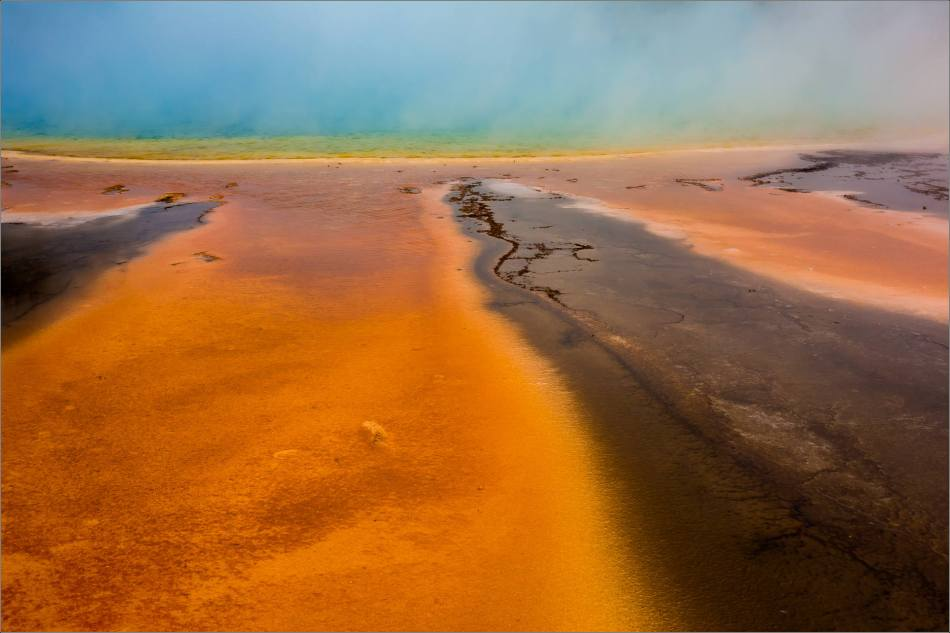Grand Prismatic Spring - people in the mist - © Christopher Martin-8805