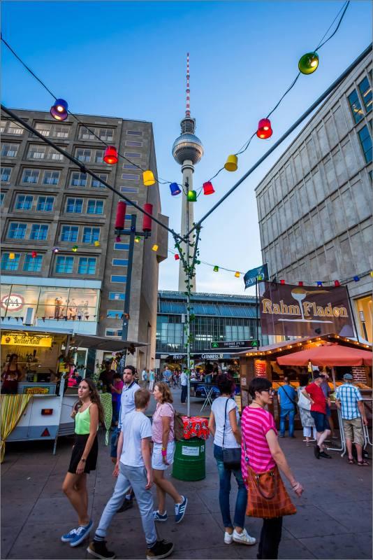 Berlin's Fernsehturm - © Christopher Martin-9314