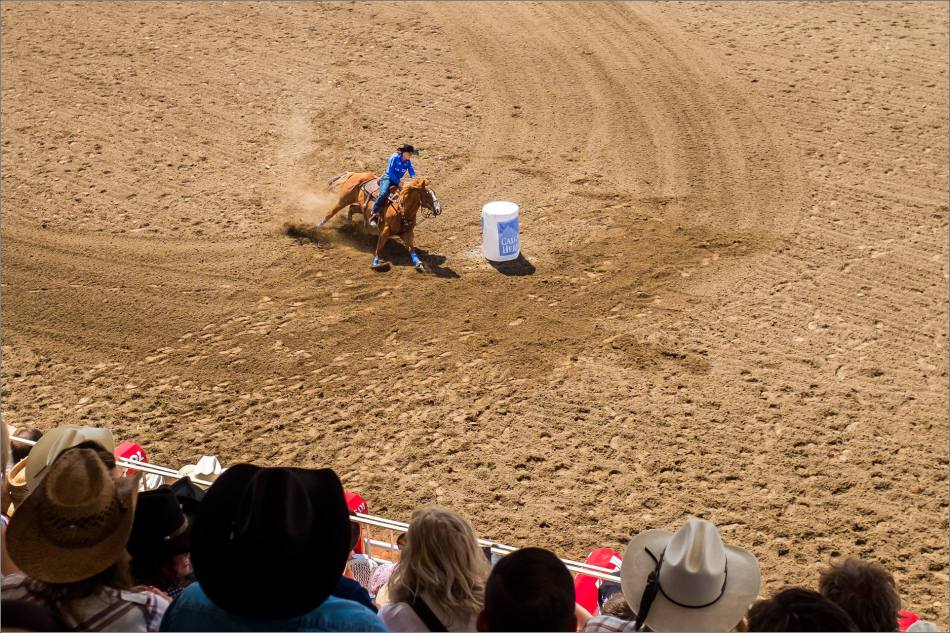 Calgary Stampede Day 1 Rodeo - © Christopher Martin-105