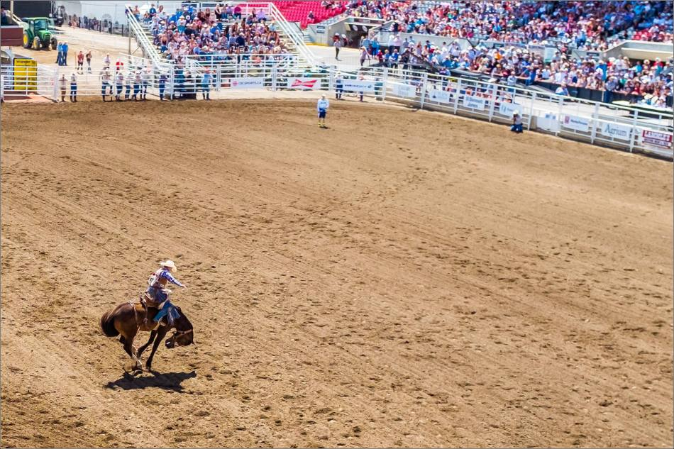 Calgary Stampede Day 1 Rodeo - © Christopher Martin-95