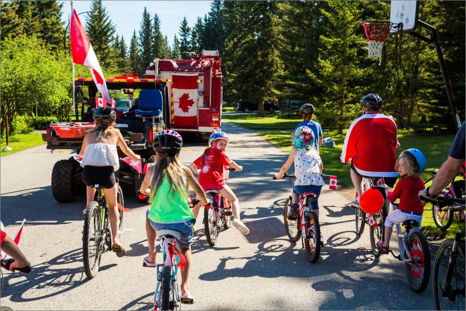 Canada Day bike parade- © Christopher Martin-54