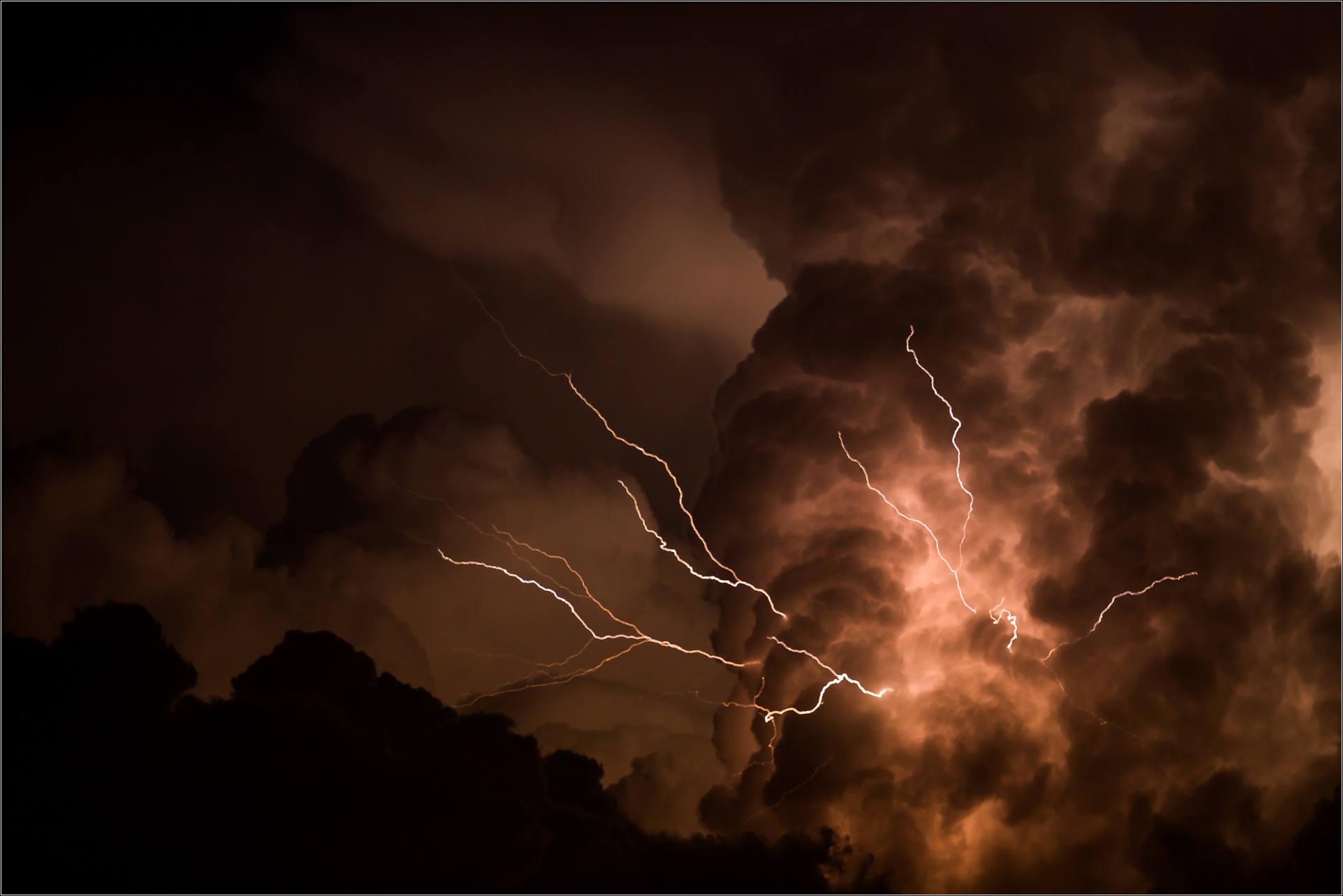 Canada Day Lightning Storm