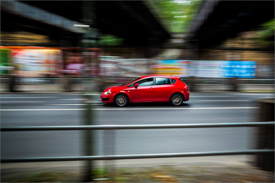 Berlin's traffic in motion - © Christopher Martin-7223