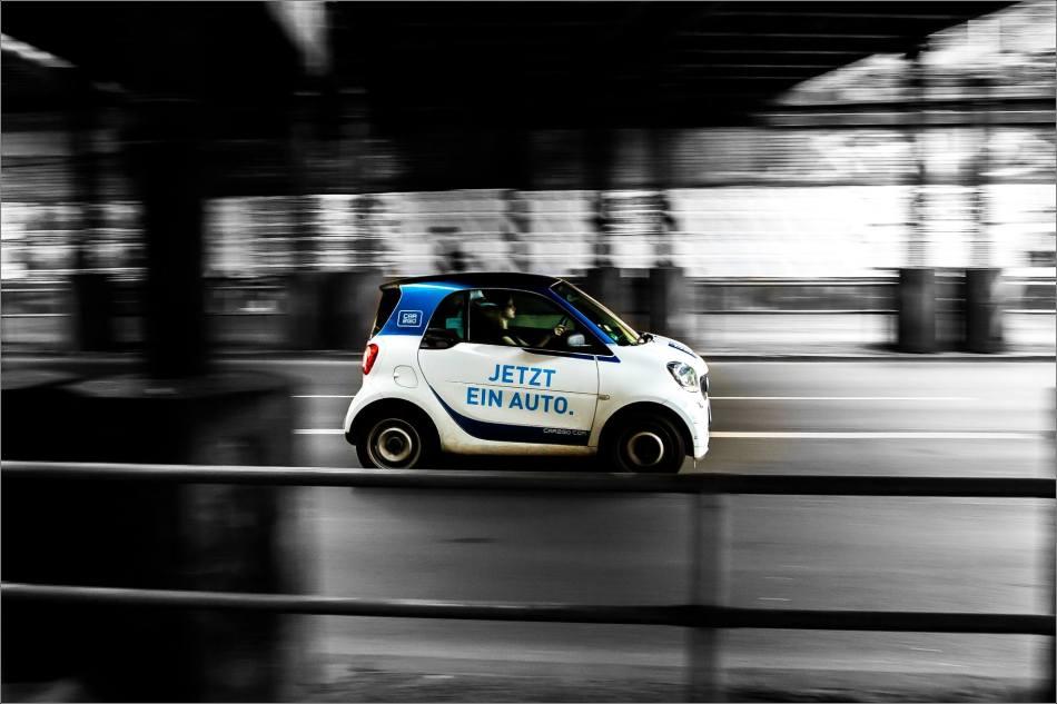 Jetzt Ein Auto - Berlin's traffic in motion - © Christopher Martin-7230-2