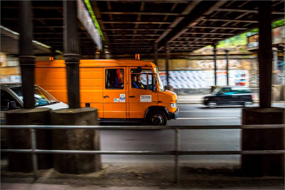 Berlin's traffic in motion - © Christopher Martin-7262